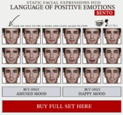 SEmotion Male Bento Facial Amused & Happy Expressions HUD