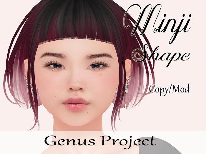 """Minji Shape """"Genus Project Head"""""""
