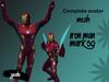Complete Avatar Iron Man Mk50 mesh (Bento)