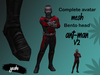 Complete Avatar Ant-Man v2 (Bento) Three sizes