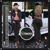 [RnR] Swag Bad Ladies Tuxedo Outfit - FITMESH versions of Maitreya Lara, Belleza Freya, Isis, Slink Hourglass, Physique!
