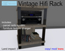 Hifi Rack with Parcel Music Manager