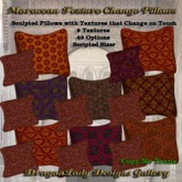 Moroccan Texture Change Pillows