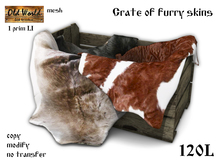 Create of furry skins - Old World - Medieval / Rustic