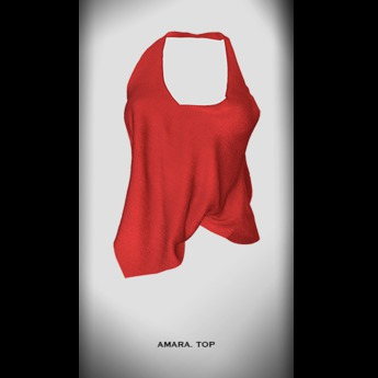 RAPTURE -Top Amara-Foxy Red-[Add me]