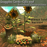 Autumn late harvest By Snuggles  Boxed