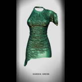 RAPTURE-Dress Kareen-Leaf-[ADD ME]