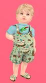 Lexxie Totsipop Infant Peter Pan Combo