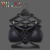 Vinyl - Applesauce Strappy Lingerie PAK Black