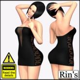 Giant Tube Dress II (V cut) for Rin's Mesh Giant Avatar