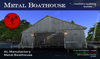 AL Metal Boathouse