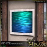 =Mirage= 3D Ocean Art - Aquamarine