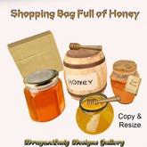 Grocery Bag Full of Honey
