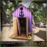 =Mirage= Beach Hut - Plumeria
