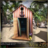 =Mirage= Beach Hut - Orange