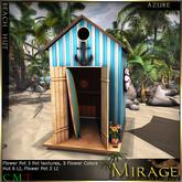 =Mirage= Beach Hut - Azure