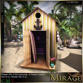 =Mirage= Beach Hut - Lemon