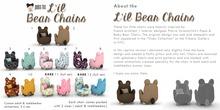 Joolee Tee Dezigns - Lil Bear Chairs full