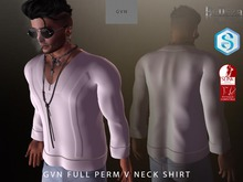 GVN FULL PERM V NECK SHIRT