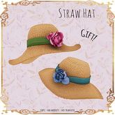 LeMomo: Straw Hat [wResize] GIFT