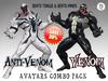 :: UCM :: Venom & Anti-Venom - Bento Avatars Combo Pack