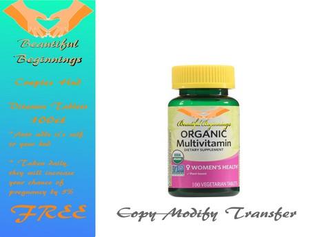 Beautiful Beginnings Multi Vitamins
