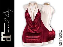 erratic / chiara - dress / red (maitreya)