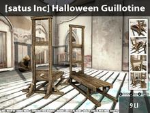 [satus Inc] Halloween Guillotine