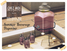 Summer Beverage Dispenser ♥ CHEZ MOI