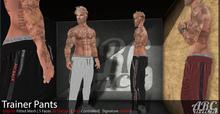 #3 [ ARCBACK ] - Trainer Pants - Full