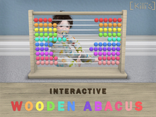 [Killi's] Wooden Abacus - Interactive & Animated