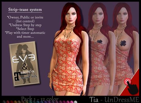 Tia - Undress Me -1 - for EVE & MAitreya