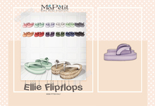[M] Ellie Flip Flops - Sugar Pearl