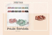 [M] Paula Sandals - Salmon