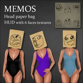 Memos Head Paper bag