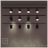 llorisen // spotlights tracks.set (black)