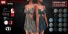 GAS [Ladies Denim Dress Larena - 20 Colors w/HUD FATPACK]