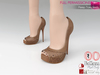 Full Perm Peep Toe Heels Sandals Slink High, Maitreya High, Ocacin Killer Heel, High Heel Shoes