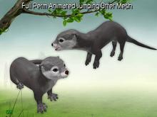 Full Perm Amazing Animated Jumping Otter Mesh