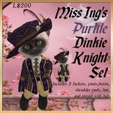 Miss Ing's Dinkie Purkle Medieval Knight Set