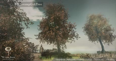 LB Swamp Oak Tree Animated 4 Seasons