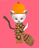 Lexxie Dinkies Halloween Pumpkin Outfit