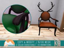 Luftmensch Crafts - Deer Chair (Leather-2 variations)