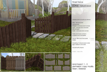 Sway's [Orla] Picket Fence . Natural Wood