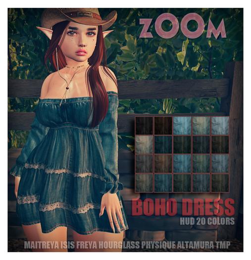 zOOm - Boho Dress
