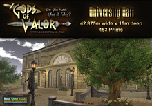 Gods of Valor - University Hall