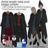 Orange*Pekoe - Ankle length robe over baggy jumper