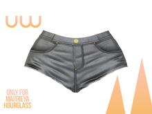 *UW* Calor Gray Short Jean for Hourglass and Maitreya