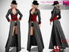 MI962737 Ladies Long Coat Full Outfit FITMESH