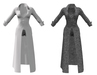Ladies long coat   full outfit sm